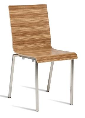 Zaffron Zebrano Designer Dining Chair