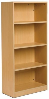GX Wooden Bookcase In Beech With Adjustable Internal Shelves