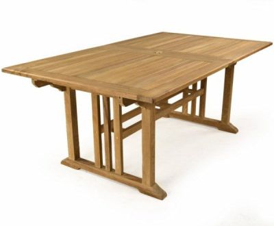 Rochetser Outdoor Extendable Teak Table