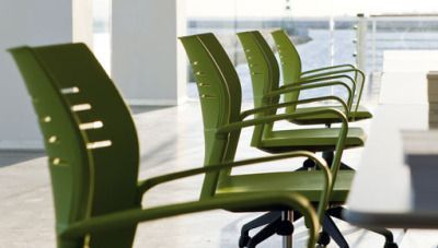 Meeting Room Using Spacio Furniture Inb Green