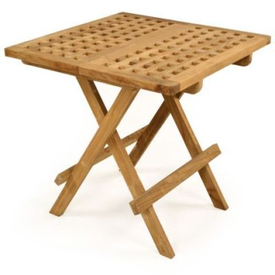 Lloyd Outdoor Square Wooden Table