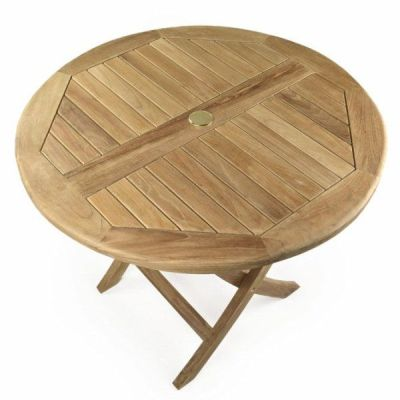 Julian Outdoor Teak Folding Table