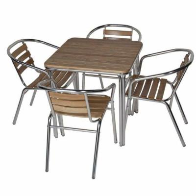 Bianca Aluminium And Ash Outdoor Dining Set