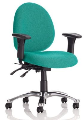 Champion 24 Hour Task Chair In Green With Heavy Duty Synchro Mechanism