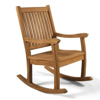 Bryan Outdoor Teak Rocking Chair