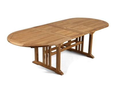 Leicester Double Leaf Teak Table