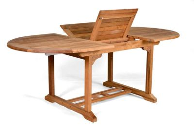 Jacob Teak Extendable Outdoor Table