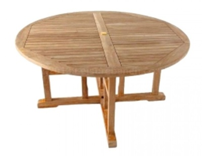 Romford Round Teak Table