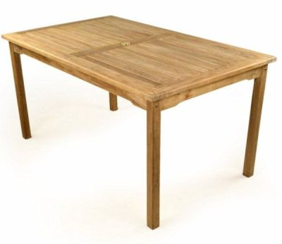 Welbec Rectangular Outdoor Teak Table