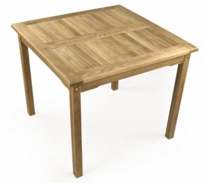 Welbec Square Teak Outdoor Table
