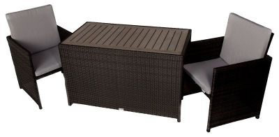 Balham Two Seatar Rattan Cube Set