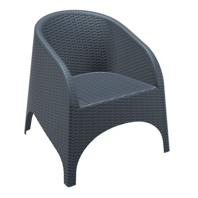 Matrix Resin Weave Effect Tub Chair