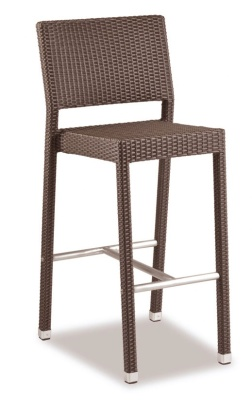 Railx Mocca Weave Outdoor High Stool