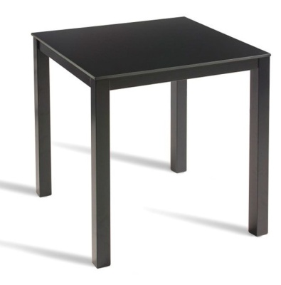 Model Black Outdoor Table