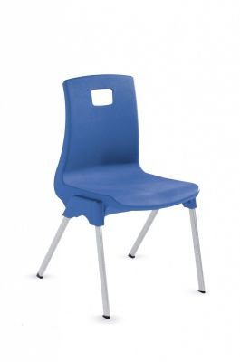 Stylus Poly Education Chair In Blue