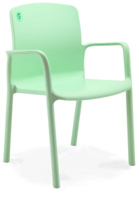 Titan Lime Green Extra Large Poly Armchair
