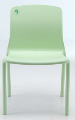 Titan Plus Lime Green Healthcare Poly Chair