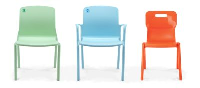 Titan Plus Anti Microbial Chairs Group Shot