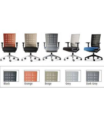 Membrane Operator Chairs In Black, Orange, Beige, Grey And Dark Grey Finishes
