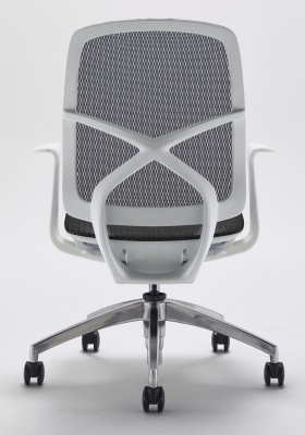 Zico Mesh Chair Rear View