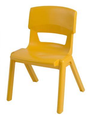 Postura Plus Classroom Chair Sunshine Yellow