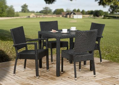 Susie All Weather Weaqve Dining Set 1