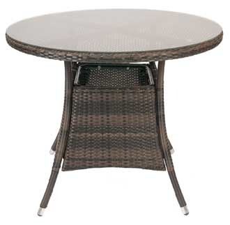 Monique Outdoor Weave Round Table