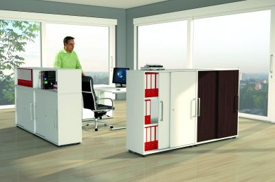 Remo Cabinets As Room Divider