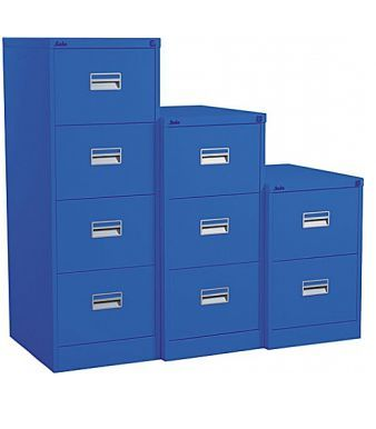 Midi Coloured Metal Filing Cabinets
