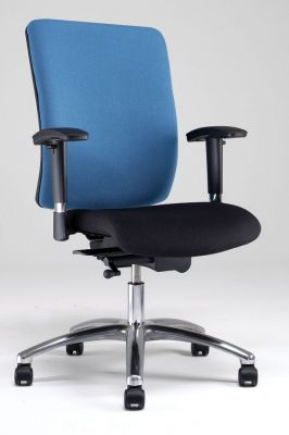 Corsa Two Tone Office Chair Shaped For Extra Support