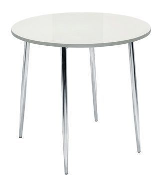 Elise 4 Leg Table White Top