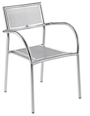 Mesh Aluminium Armchair