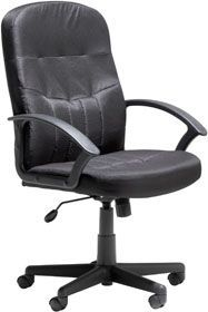 Leather Executive Black Chair