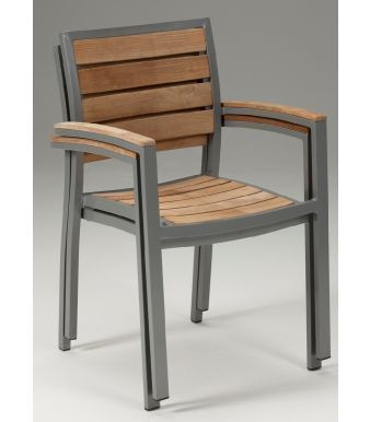 Vesu Outdoor Teak Armchair
