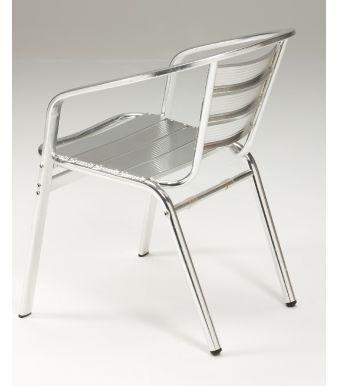 Lisbon Aluminium Armchair