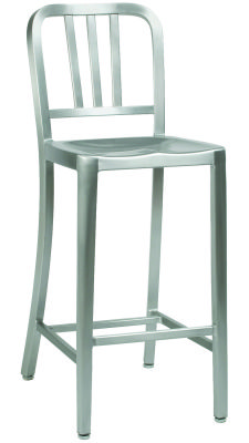 Marinio Fully Welded Aluminium High Stool