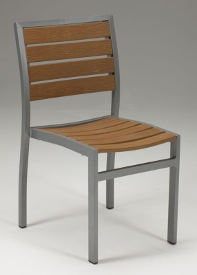 Vesu Artificial Teak Side Chair