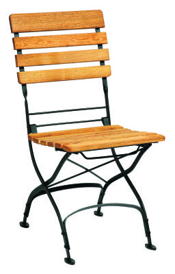 Terrace Robina Wood Outdoor Folding Side Chair