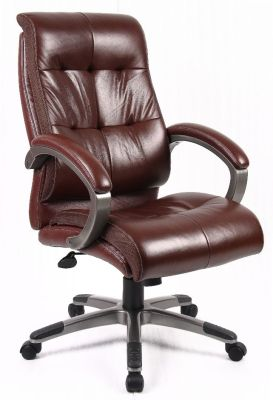 Brown Leather Executive Padded Chairt