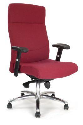Scorpio Ergonomic Red Executive Fabric Chair