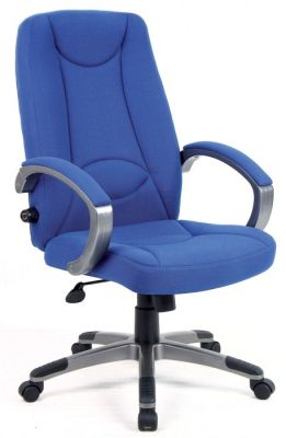 Ergo-Lux Fabric Padded Executive Chair
