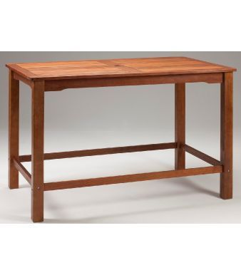 Tiverton Outdoor Wooden Bar Table