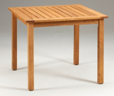 Tiverton Square Outdoor Wooden Table