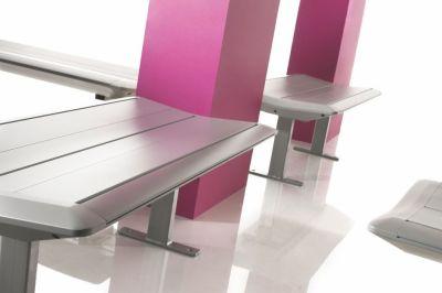 Designer Surf Metal Bench Seating