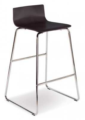 Piazza 7 Designer High Stool Side View