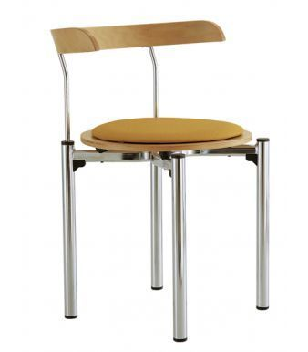 Sauver Chair With A Seat Pad