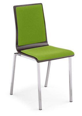 Squerto Fully Upholstered Cafe Chair