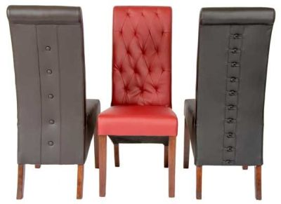 Eton Leather Dining Chairs