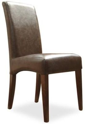 Stranada Faux Leather Dining Chair