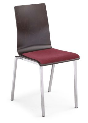 Squerto Chair With An Upholstered Seat